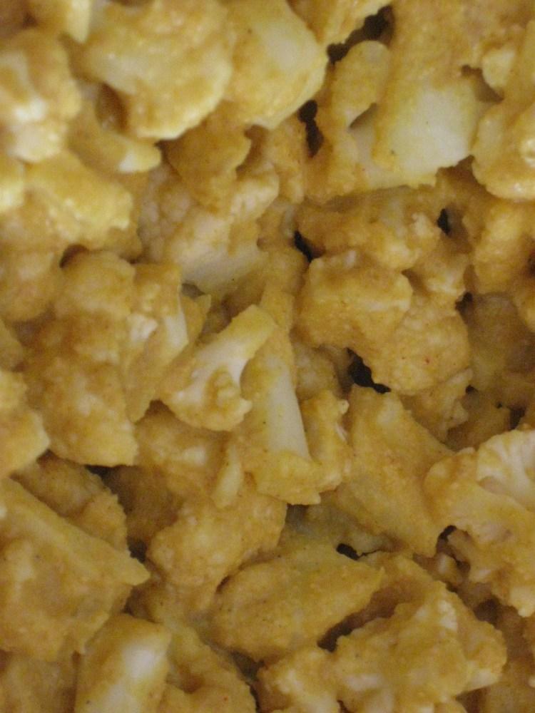Cauliflower Pakora (or as I like to call it - Vegan Popcorn Chicken!)  (2/3)