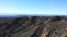 Part of the climb
