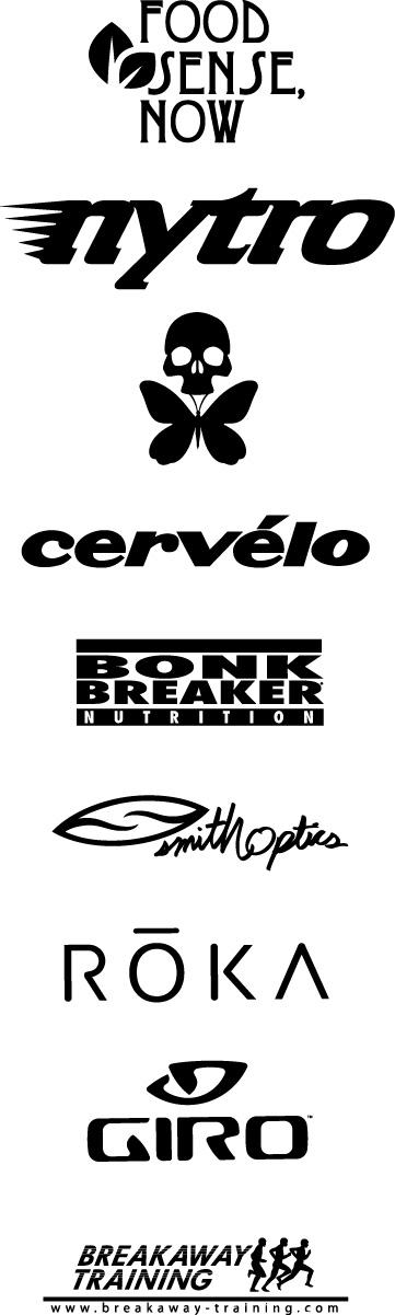 Groove Tri Sponsors