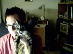 Birthday hug circa 2002