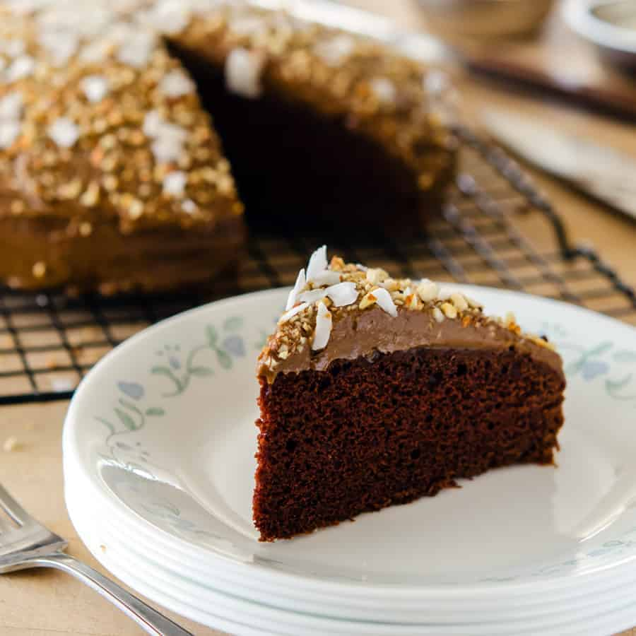 This Lover's Chocolate Cake is an absolutely delicious dessert that is actually on the healthy side! Plus, it's filled with love-inducing ingredients.