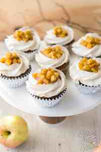Apple Pie Cinnamon Cupcakes