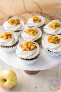 Apple Pie Cinnamon Cupcakes