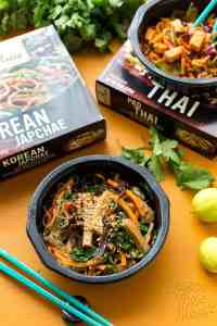 Korean Japchae + Pad Thai - Sweet Earth Review