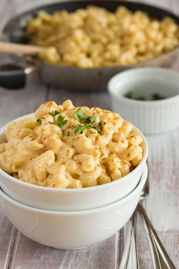 Vegan Recipe: Vegan Mac and Cheese Vegan Pasta in Cashew Sauce