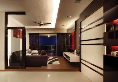 Living Room Interior Design Singapore