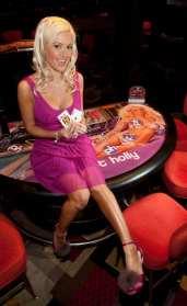 Holly Madison Blackjack Table Felt