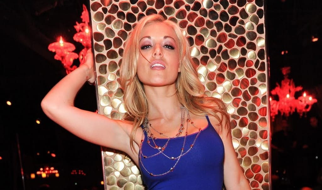 Kayden Kross Photos Partying at TAO Nightclub
