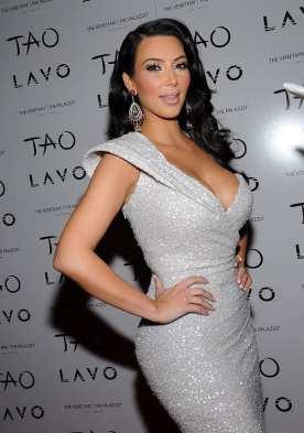 Kim Kardashian - TAO Nightclub - New Years Eve 2011
