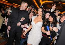 Kim Kardashian - TAO Nightclub - New Years Eve 2011