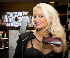 Holly Madison at Sephoa
