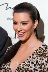 Kim Kardashian pictured at Kardashian Khoas Grand Opening at The Miarge in Las Vegas, NV on December 15, 2011. (C) RD/ Kabik/ Retna Digital
