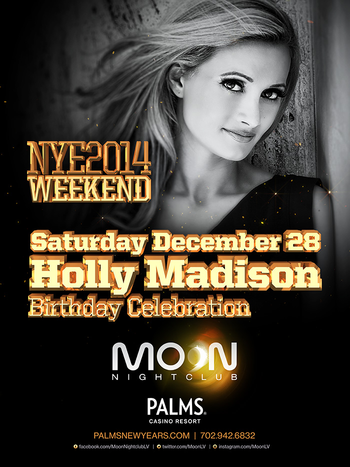 Holly Madison''s Birthday Party at Moon Nightclub