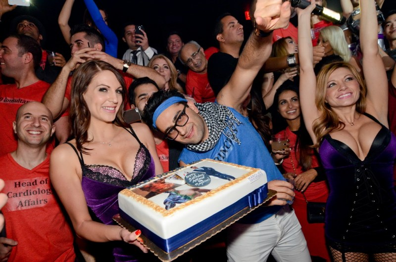 Antonio Esfandiari Marquee Birthday Cake