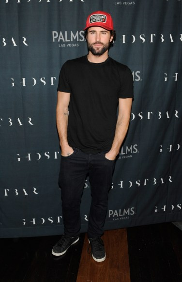Brody Jenner looks dapper on the red carpet of Ghostbar inside Palms Casino Resort.