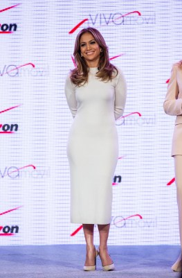 J Lo announces Viva Movil by Jennifer Lopez in Las Vegas, NV