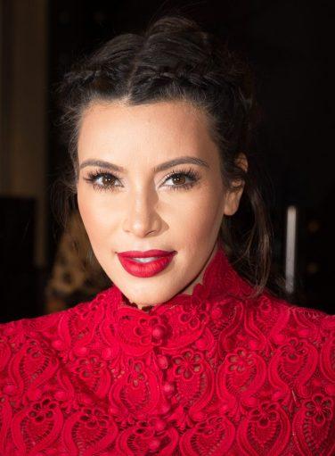 Kim Kardashian at Kardashian Khaos in Las Vegas, NV