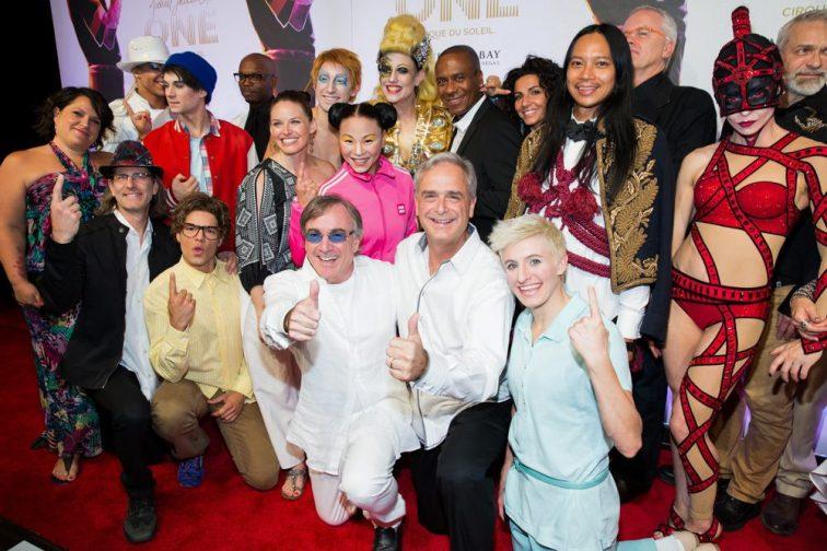 Michael Jackson ONE Cirque Du Soleil Premiere in Las Vegas, NV