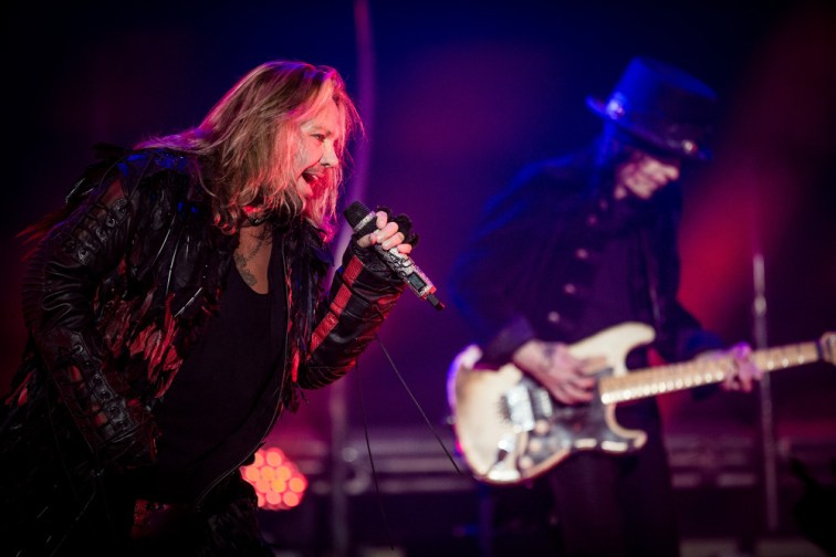 Motley Crue at The Joint at Hard Rock Hotel in Las Vegas, NV