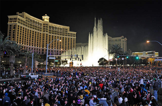 Road Closures for New Year's Eve on the Las Vegas Strip