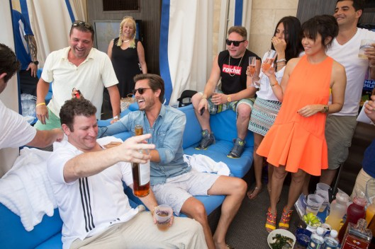 Scott Disick hosts and special guest Kourtney Kardashian at Sapphire Pool & Dayclub in Las Vegas, NV