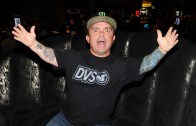 "Jason ""Wee Man"" Acuna hanging out at SOCIAL Center Bar inside Palms Casino Resort."