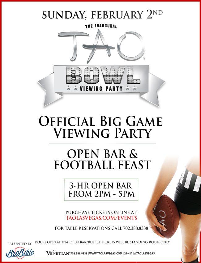 TAO Bowl 2014