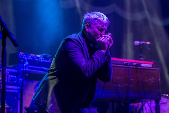 Taylor Hicks & Galactic performed at Brooklyn Bowl Las Vegas at The Linq on March 29, 2014