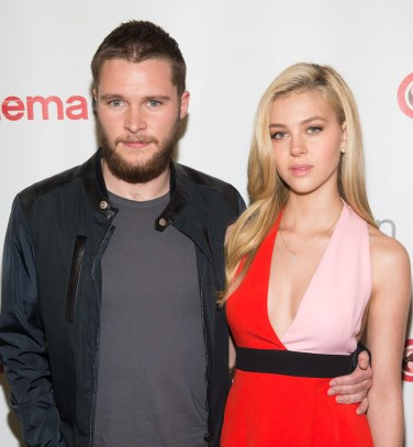 Jack Reynor and Nicola Peltz at CinemaCon 2014