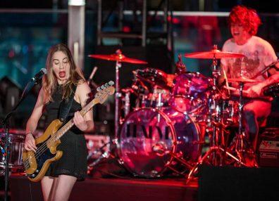 HAIM at The Cosmopolitan of Las Vegas Boulevard Pool