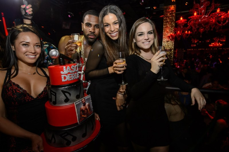 Jason Derulo, Jordin Sparks and JoJo at TAO
