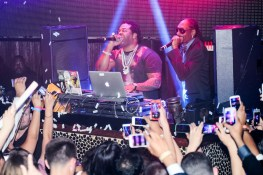 Busta Rhymes and Snoop Dogg in TAO DJ Booth