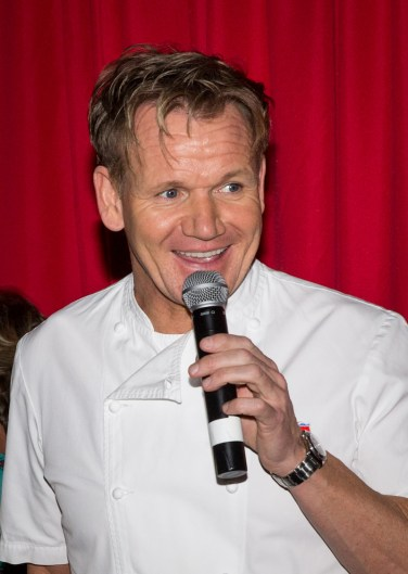 Chef Gordon Ramsay at Vegas Uncork'd