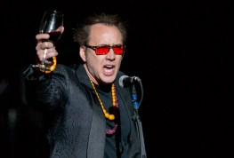 Nicolas Cage introduces Guns N Roses at The Joint Inside Hard Rock