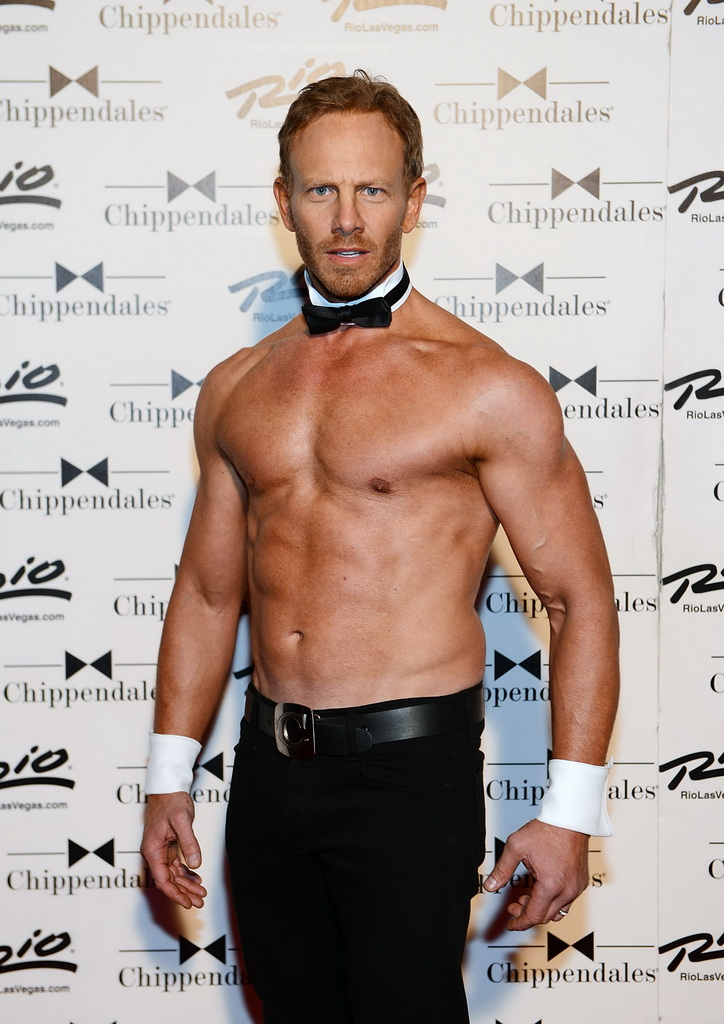 Ian Ziering Debuts In Chippendales - Photo by Denis Truscello
