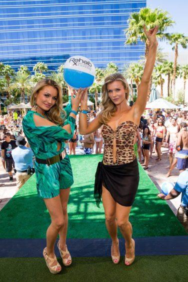 Joanna Krupa and Marta Krupa Birthday at Rehab at Hard Rock Hotel