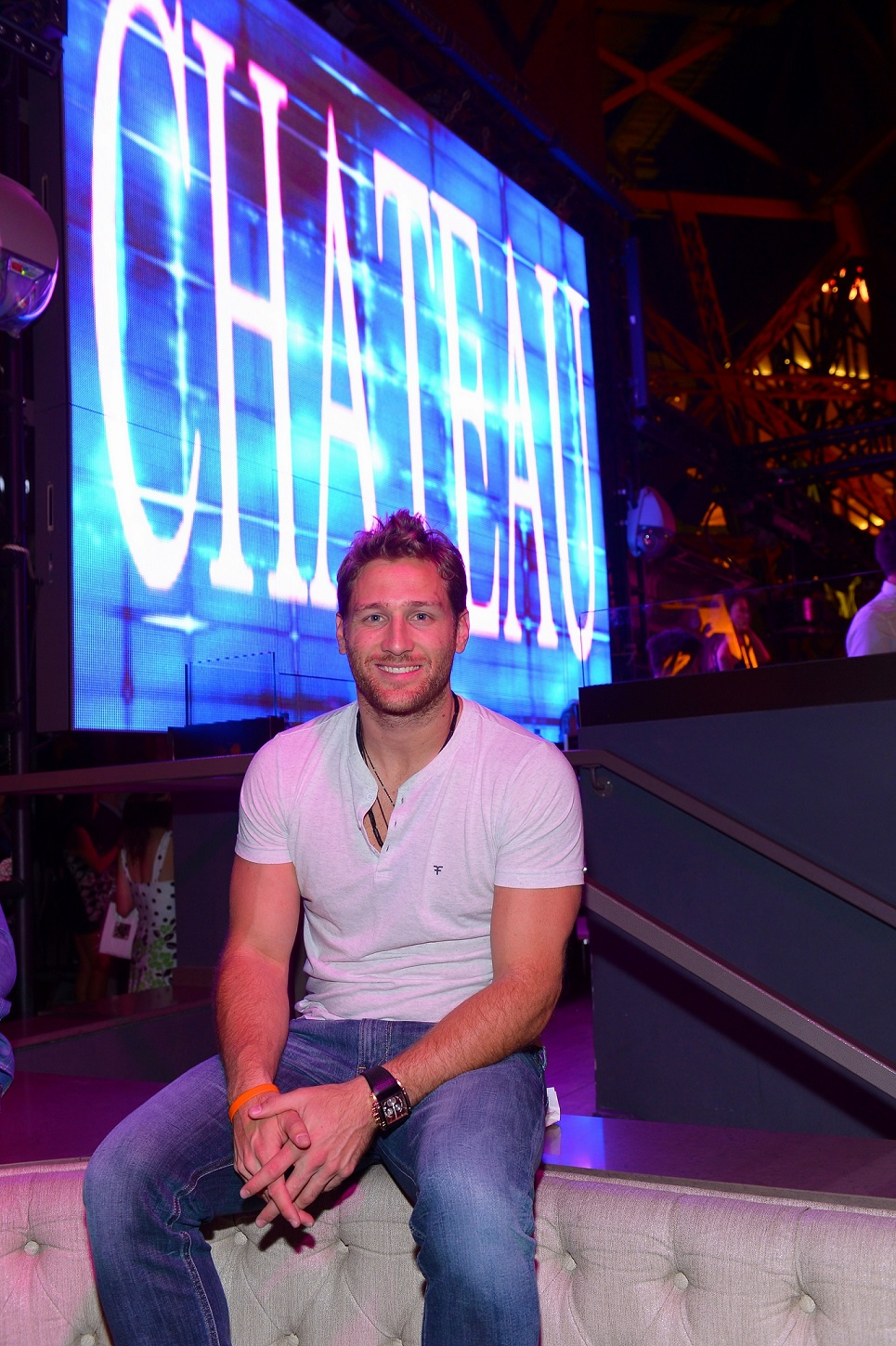 Juan Pablo Galavis at Chateau VIP Booth