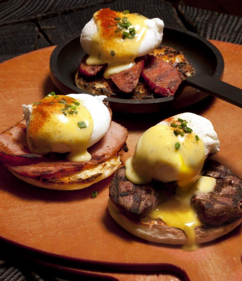 La Cave Wine & Food Hideaway Eggs Benedict
