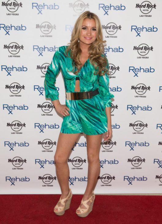 Marta Krupa Birthday at Rehab at Hard Rock Hotel