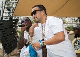 Meek Mill and French Montana at REHAB