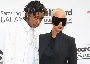 Wiz Khalifa and Amber Rose at 2014 Billboard Music Awards