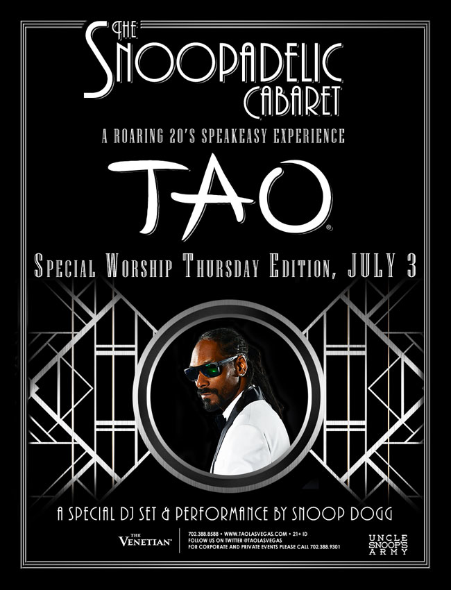 Snoop Dogg - Snoopadelic Cabaret July 03