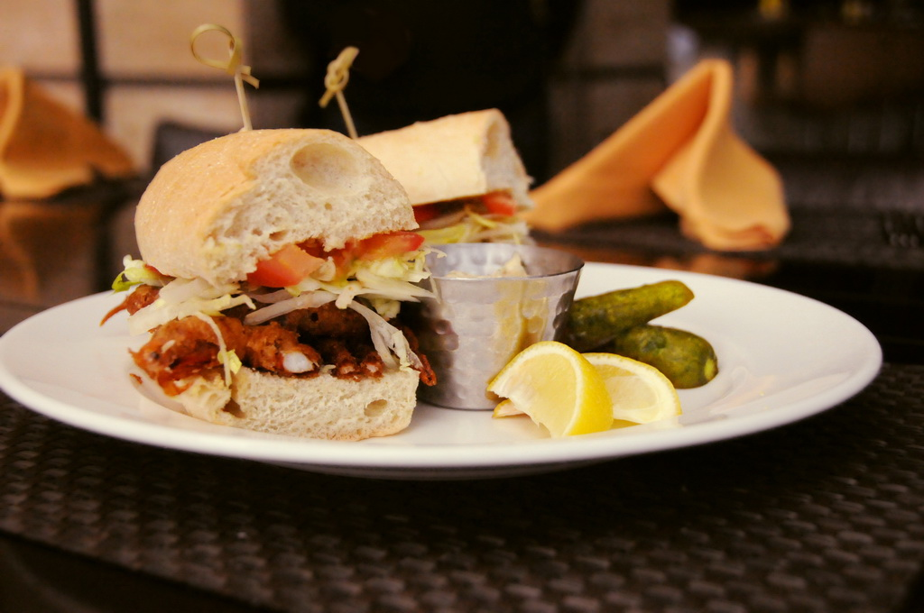 Anthonys Gourmet Burgers & Brews - Soft Shell Crab Sandwich