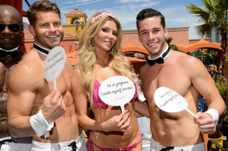 Brandi Glanville and Chippendales at WLBP at TAO Beach