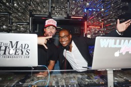 Brody Jenner and William Lifestyle DJing at Hyde Bellagio