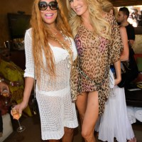 Wendy Williams and Brandi Glanville Party at TAO Las Vegas