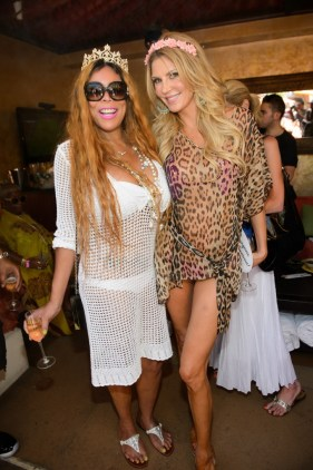 Wendy Williams and Brandi Glanville at World's Largest Bachelorette Party at TAO Beach