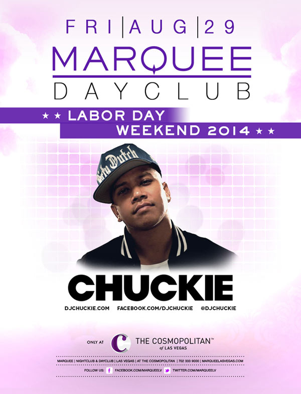Chuckie at Marquee Dayclub