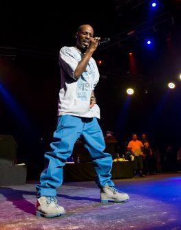 DMX at Legends of Hip Hop Show