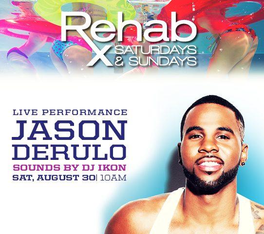 Jason Derulo at REHAB